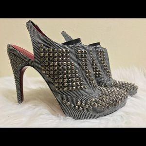 """""""SALE"""" Cesare Paciotti Studded Heels - 6.5"""